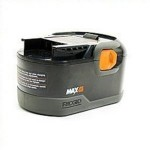 RIDGID 18 Volt Battery 150x150 RIDGID 130254003 18 Volt Ni Cd MAX Battery